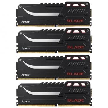 Оперативная память 8 ГБ 4 шт. Apacer BLADE DDR4 2800 DIMM 32Gb Kit (8GBx4)
