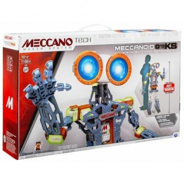 Электронный конструктор Meccano TECH 15402 Меканоид G15 KS