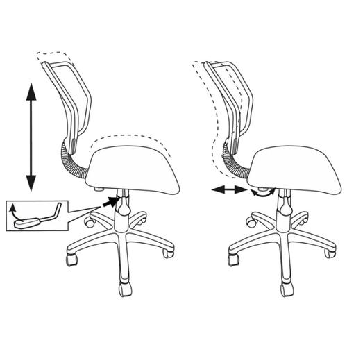 Компьютерное кресло Бюрократ CH-295