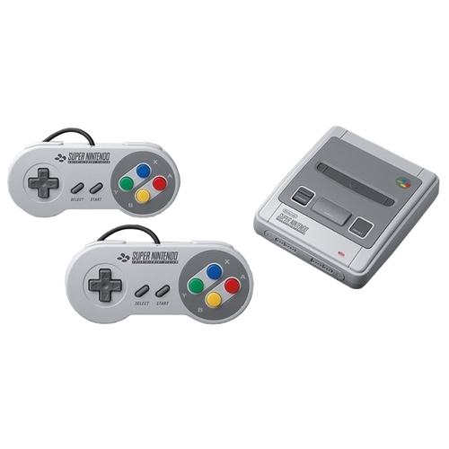 Игровая приставка Nintendo Classic Mini: Super Nintendo Entertainment System