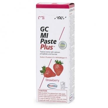 Зубная паста GC Corporation Mi paste plus, клубника