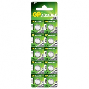 Батарейка GP Alkaline Cell A76 LR44