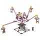 Электромеханический конструктор LOZ Amusement Park 2014 Четыре лопасти