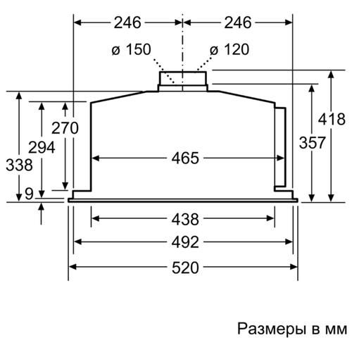 Встраиваемая вытяжка NEFF D55ML66N1