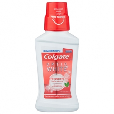 Colgate Optic White отбеливающий ополаскиватель полости рта