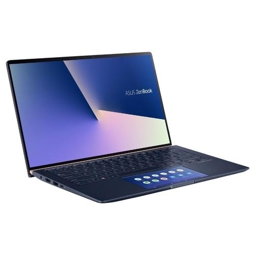 "Ноутбук ASUS ZenBook 14 UX434FL-DB77 (Intel Core i7 8565U 1800 MHz/14""/1920x1080/16GB/512GB SSD/DVD нет/NVIDIA GeForce MX250/Wi-Fi/Bluetooth/Windows 10 Pro)"