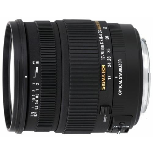 Объектив Sigma AF 17-70mm f/2.8-4 DC MACRO OS HSM Nikon F