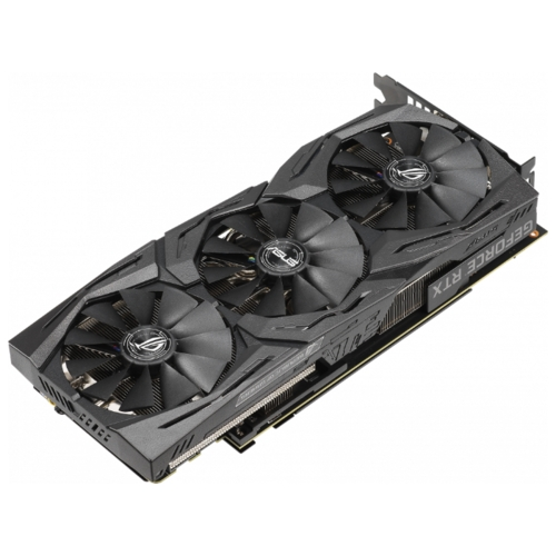 Видеокарта ASUS ROG GeForce RTX 2070 1410MHz PCI-E 3.0 8192MB 14000MHz 256 bit 2xDisplayPort 2xHDMI HDCP STRIX GAMING