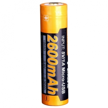 Аккумулятор Li-Ion 2600 мА·ч Fenix 18650 ARB-L18-2600U