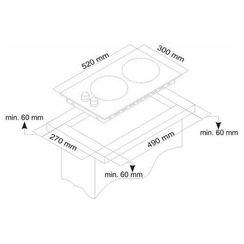Варочная панель Simfer H30V20M411