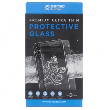 Защитное стекло Sensocase для Apple iPhone 8 Plus Protective Glass 0.2 mm 2,5D 9H+