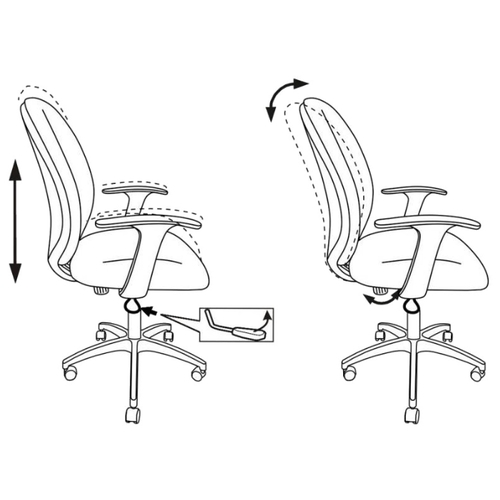 Компьютерное кресло Бюрократ CH-585