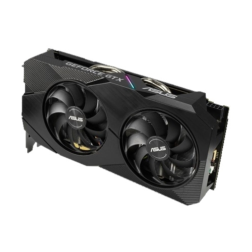 Видеокарта ASUS DUAL GeForce GTX 1660 Ti 1500MHz PCI-E 3.0 6144MB 12002MHz 192 bit DVI DisplayPort 2xHDMI HDCP Advanced EVO