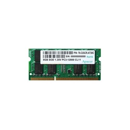 Оперативная память 8 ГБ 1 шт. Apacer DDR3L 1600 SO-DIMM 8Gb