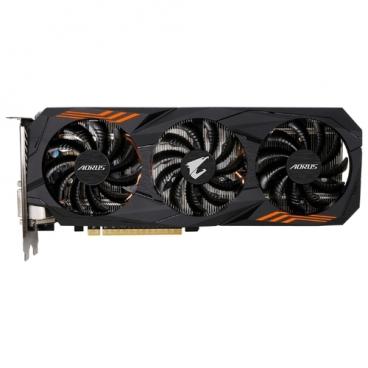 Видеокарта GIGABYTE GeForce GTX 1060 1632MHz PCI-E 3.0 6144MB 8008MHz 192 bit DVI HDMI HDCP AORUS rev. 2.0
