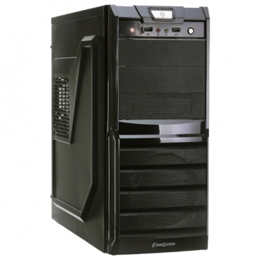 Компьютерный корпус ExeGate XP-329 600W Black