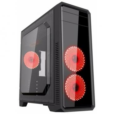 Компьютерный корпус GameMax G561-F Red