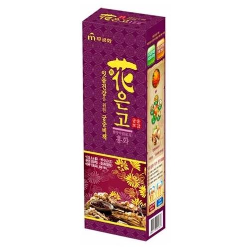 Зубная паста Mukunghwa Императорский рецепт с экстрактом сафлора красильного, мята