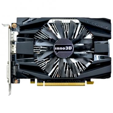 Видеокарта INNO3D GeForce GTX 1060 1506MHz PCI-E 3.0 6144MB 8000MHz 192 bit DVI HDMI HDCP Compact (N1060-6DDN-N5GM)