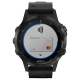 Часы Garmin Fenix 5 Plus Sapphire с кожаным ремешком