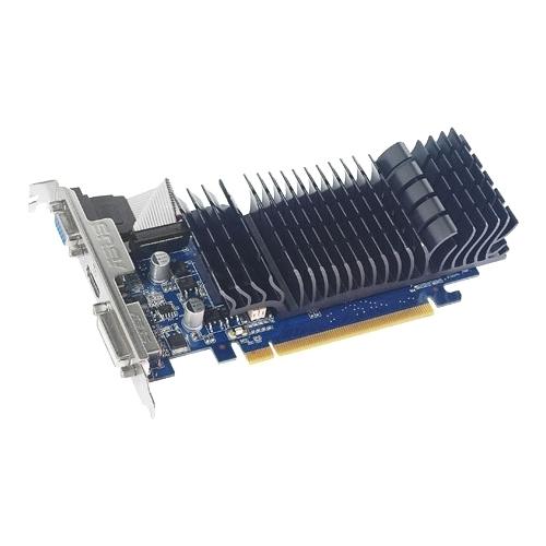 Видеокарта ASUS GeForce 210 589Mhz PCI-E 2.0 512Mb 1200Mhz 32 bit DVI HDMI HDCP