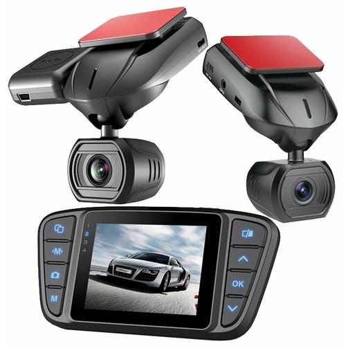 Видеорегистратор Bluesonic BS-F010, 4 камеры, GPS