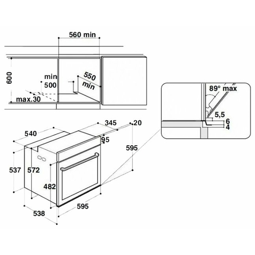 Электрический духовой шкаф Hotpoint-Ariston FI9 891 SH IX