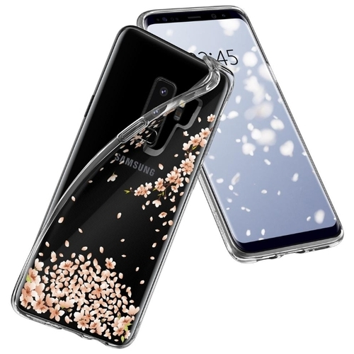 Чехол Spigen Liquid Crystal для Samsung Galaxy S9+ (593CS22914)