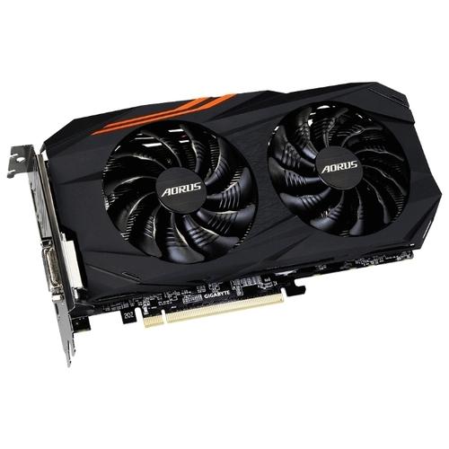 Видеокарта GIGABYTE Radeon RX 570 1280MHz PCI-E 3.0 4096MB 7000MHz 256 bit DVI HDMI HDCP Aorus