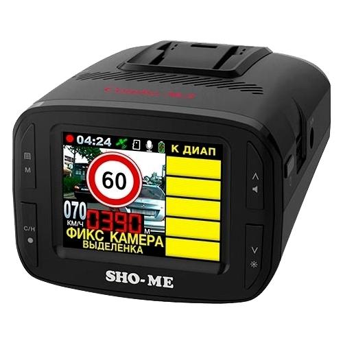 Видеорегистратор с радар-детектором SHO-ME Combo №3 iCatch