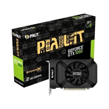 Видеокарта Palit GeForce GTX 1050 1354MHz PCI-E 3.0 2048MB 7000MHz 128 bit DVI HDMI HDCP StormX
