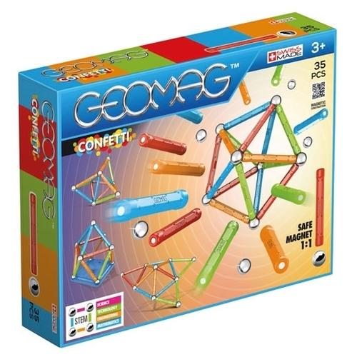 Магнитный конструктор GEOMAG Confetti 351-35