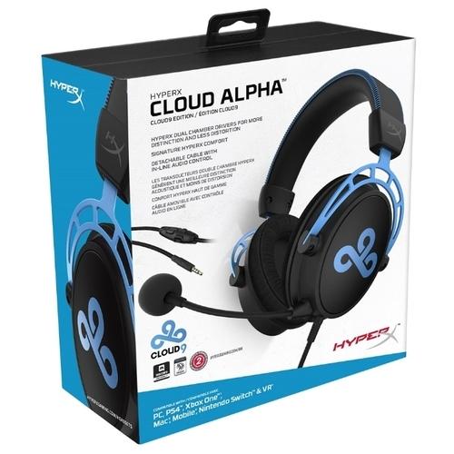 Компьютерная гарнитура HyperX Cloud Alpha Cloud9 Edition