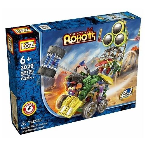 Электромеханический конструктор LOZ Ox-Eyed Robots 3029