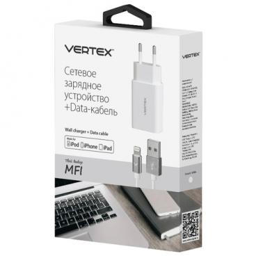 Сетевая зарядка VERTEX MFITC2400WH