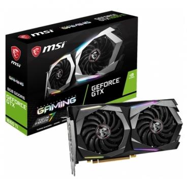 Видеокарта MSI GeForce GTX 1660 Ti 1770MHz PCI-E 3.0 6144MB 12000MHz 192 bit 3xDisplayPort HDMI HDCP GAMING