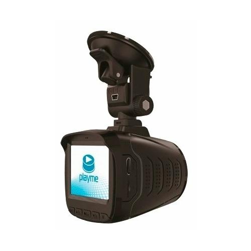 Видеорегистратор с радар-детектором Playme P350 TETRA