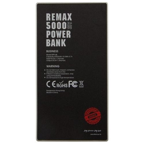 Аккумулятор Remax Coolslim 5000 mAh RPP-68
