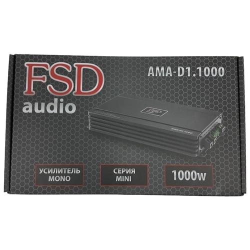 Автомобильный усилитель FSD audio MASTER MINI AMA D 1.1000