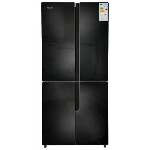 Холодильник Ginzzu NFK-500 Black glass