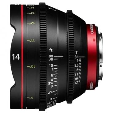Объектив Canon CN-E 14mm T3.1 L F