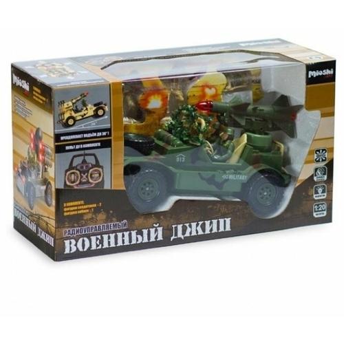 Внедорожник Mioshi Tech военный (MAR1207-010) 1:20 30 см