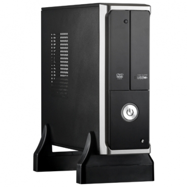 Компьютерный корпус ExeGate MI-205 350W Black/silver