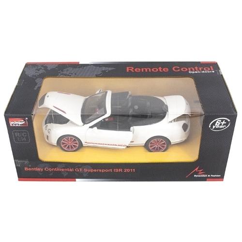 Легковой автомобиль MZ Bentley Continental GT (MZ-2249J) 1:14 34 см