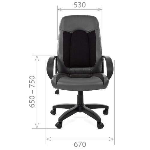 Компьютерное кресло Chairman 429 для руководителя