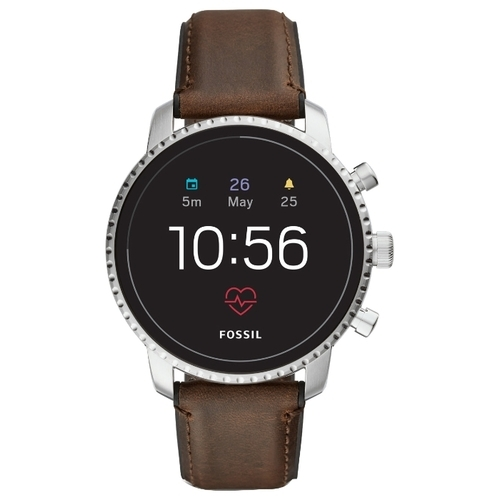 Часы FOSSIL Gen 4 Smartwatch Explorist HR (leather)
