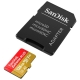 Карта памяти SanDisk Extreme PLUS microSDXC Class 10 UHS Class 3 V30 A2 170MB/s 128GB + SD adapter