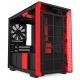 Компьютерный корпус NZXT H210i Black/red