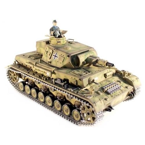 Танк Taigen Panzerkampfwagen IV Ausf F1 Pro (TG3858-1PRO) 1:16 40.3 см