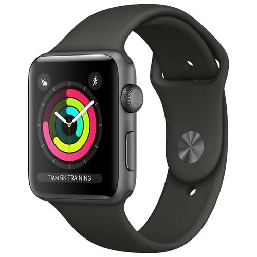 Часы Apple Watch Series 3 38mm Aluminum Case with Sport Band